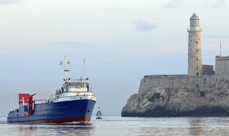 Llegó a La Habana primer barco de mercancías directo desde Miami en 50 años
