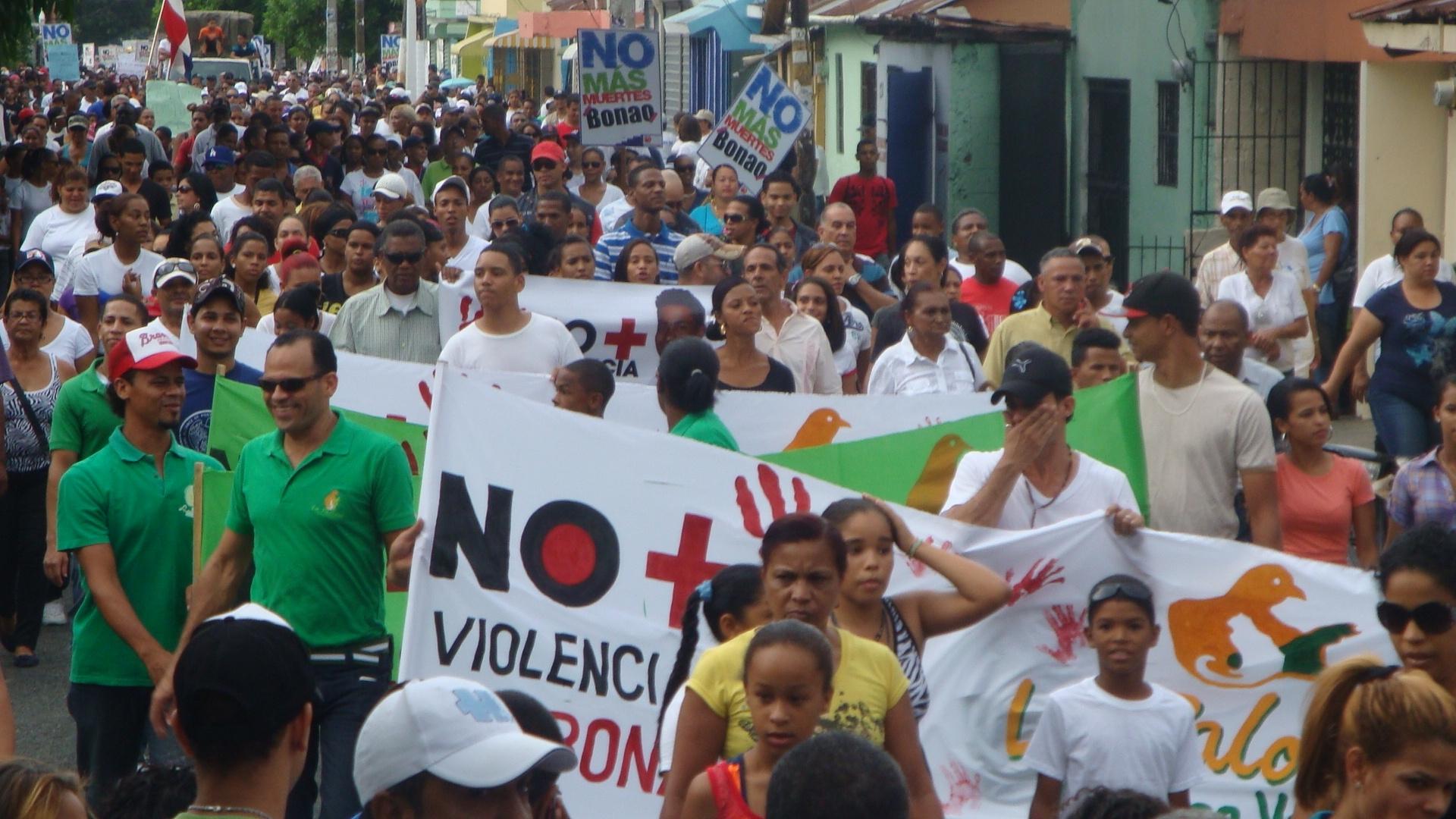 Ola de violencia en Bonao se debe a grupos del narcotráfico, según Interior y Policía