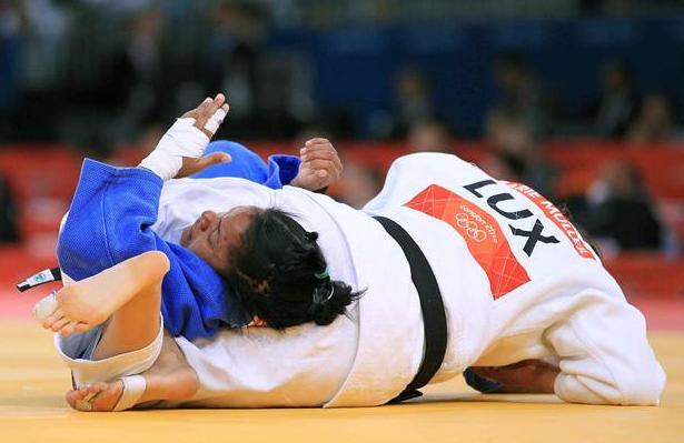 La dominicana Maria García se rinde en su primer combate de Londres 2012