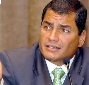 Correa denuncia