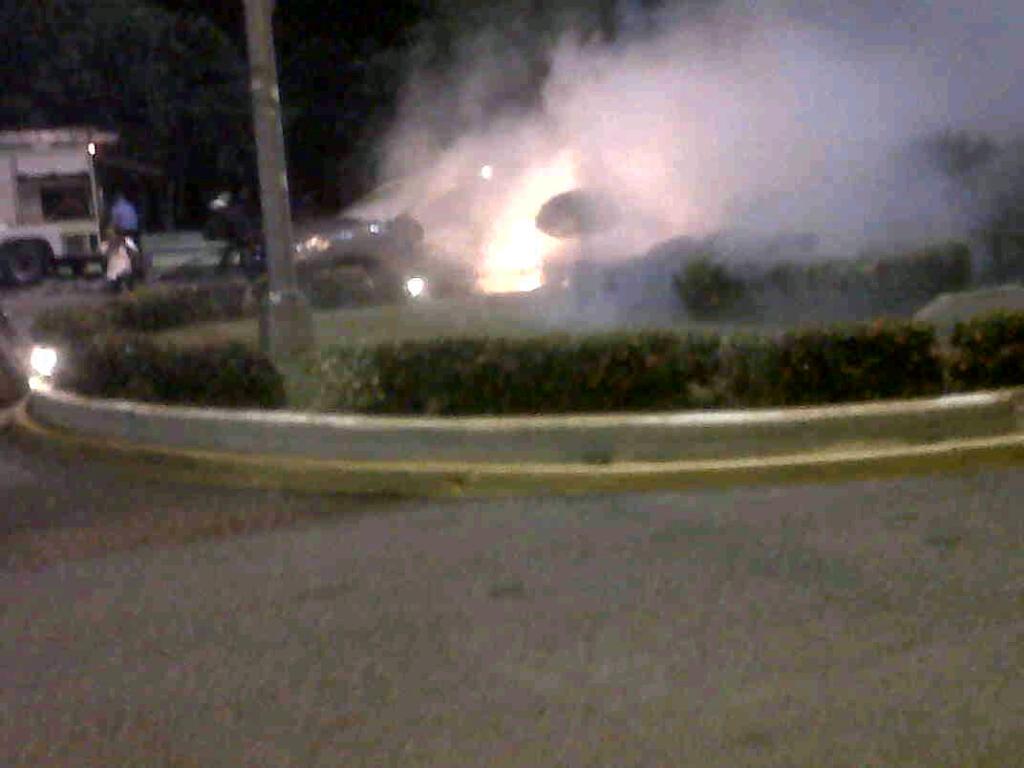 En exclusiva con audio y video: más de 50 detenidos y al menos cuatro heridos en protesta UASD