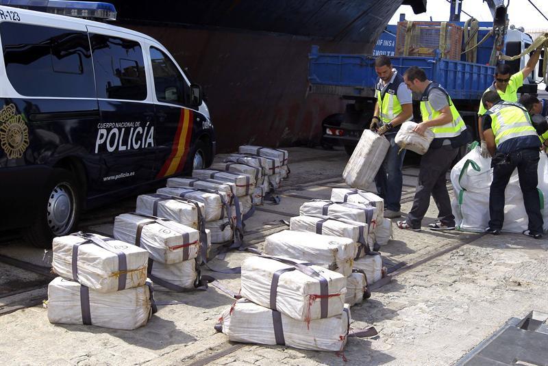 En España desmantelan red compuesta por dominicanos, españoles y colombianos