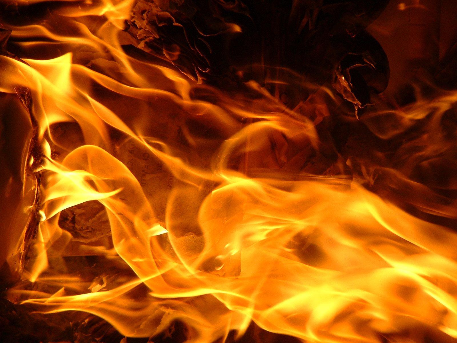 Prenden fuego al Parque Central de Santiago