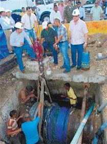Al menos 20 sectores de SDE se quedarán sin agua por trabajo de la CAASD