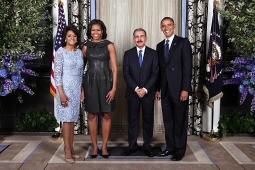 Barack Obama recibe a Danilo Medina