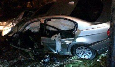 El cantante Black Jonas Point sufre accidente automovilístico