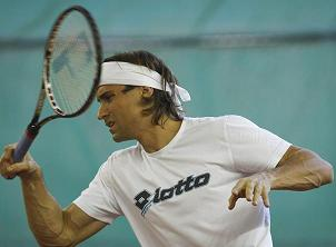 Ferrer y Querrey abrirán mañana la semifinal de la Copa Davis en Gijón