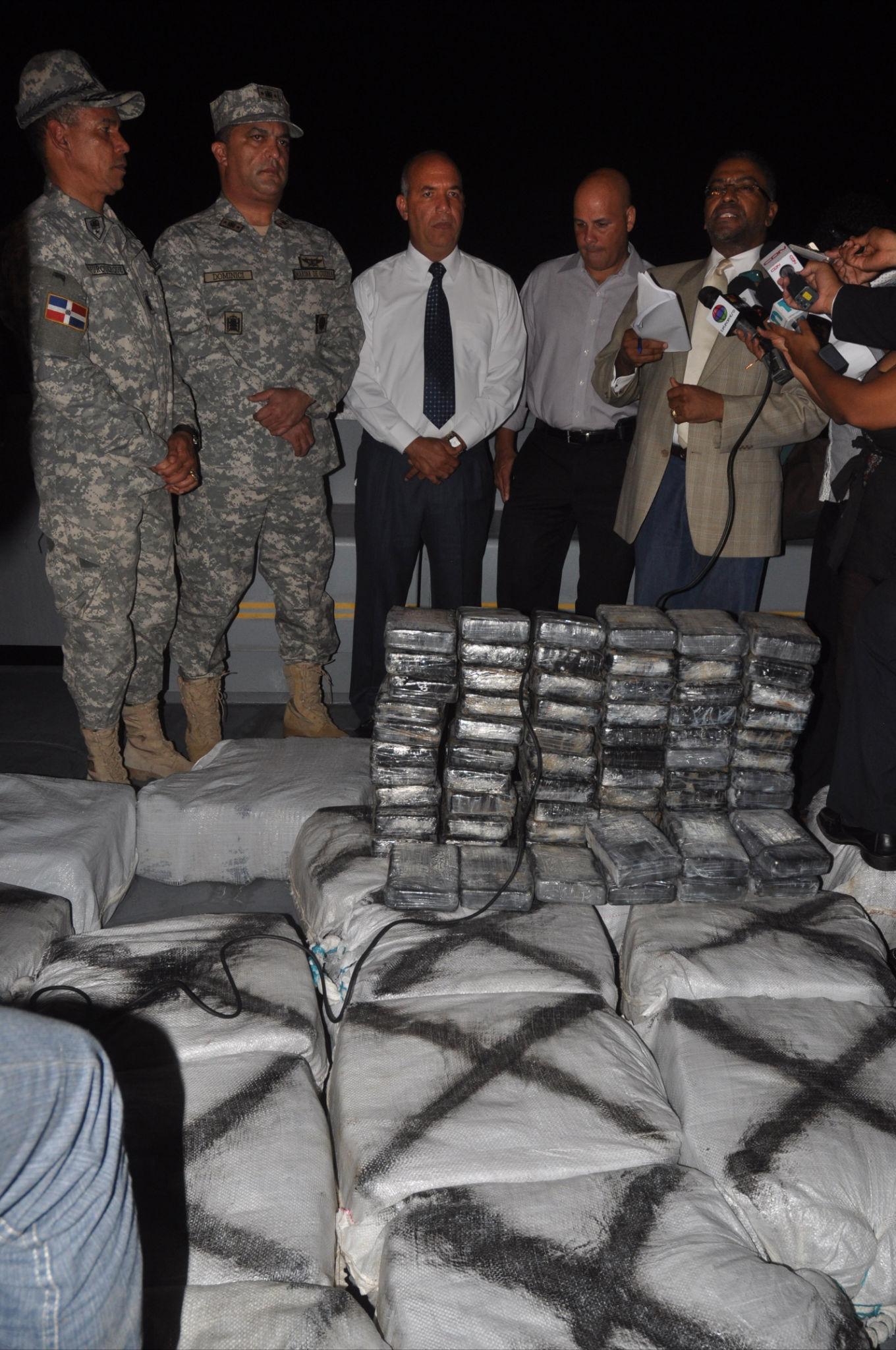 Decomiso de cocaína en la Isla Saona valorado en cientos de millones de pesos