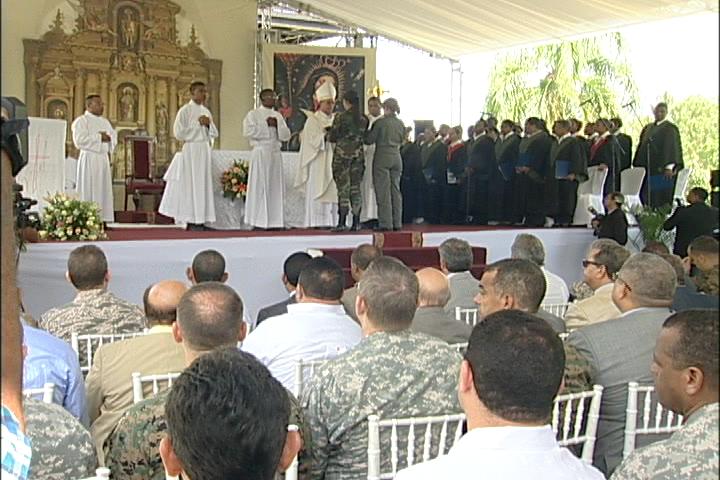 Ejército Nacional celebra misa con motivo al día de su patrón San Miguel Arcángel