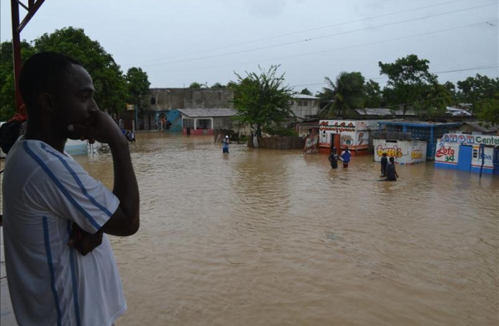 Unión Europea anuncia ayuda para afectados de la tormenta