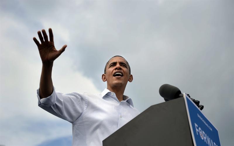 Obama toma una ventaja de cuatro puntos sobre Romney, según sondeo de Gallup