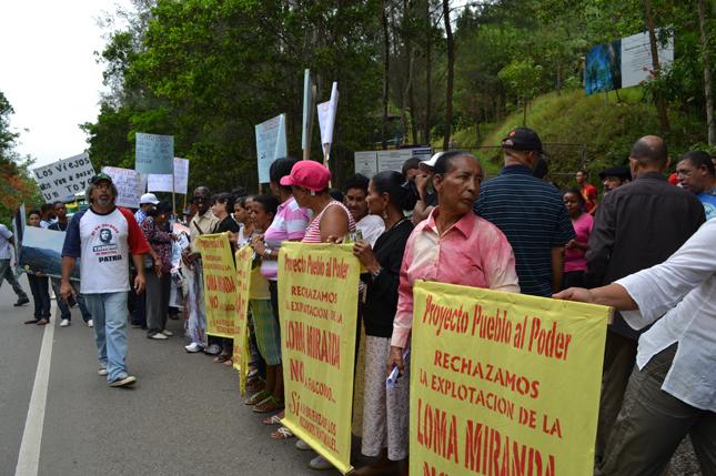 Organizaciones a favor de Loma Miranda escriben al Senado RD