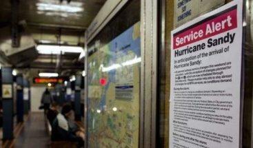 Huracán Sandy altera vida de los neoyorkinos