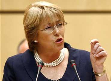 Bachelet pide alto el fuego y una solución política a Israel y Hamás
