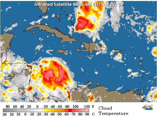 Se esperan lluvias en la mañana de este martes, informa Meteorología
