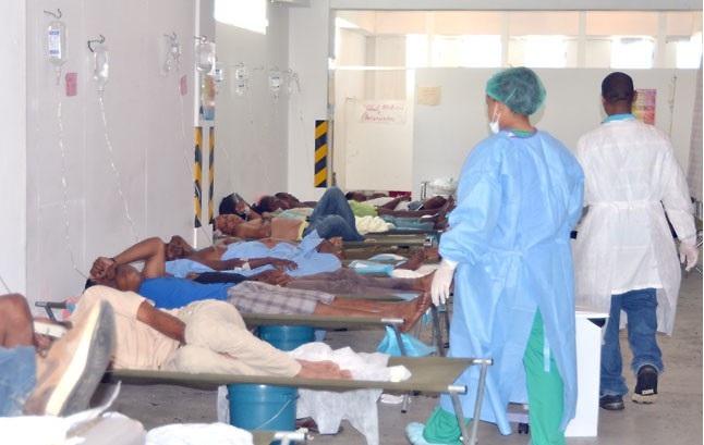 Moca continúa en alerta por casos de cólera, ingresan 26 pacientes con síntomas de la enfermedad