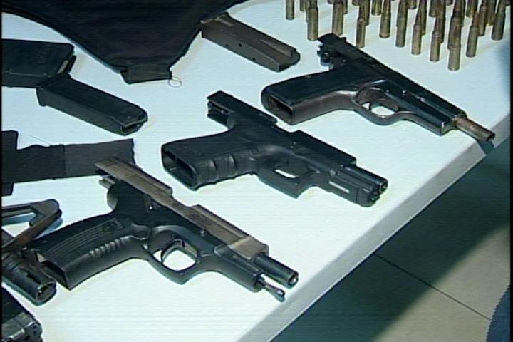 Interior y Policía se incauta de 17 armas de fuego incluyendo un fusil M1