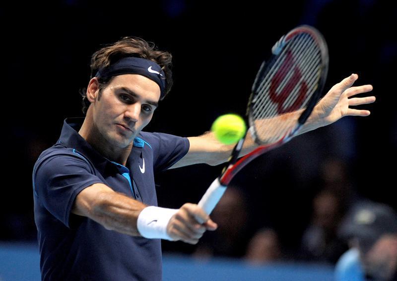 Federer, enojado con la seguridad del torneo