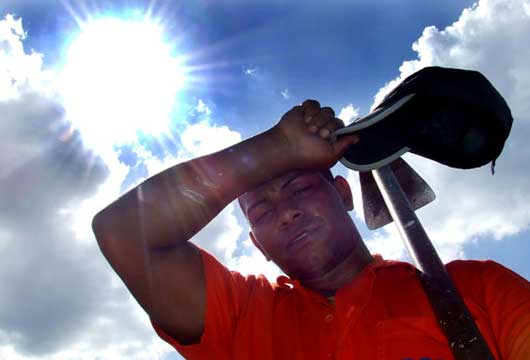 Meteorología pronostica altas temperaturas para este fin de semana