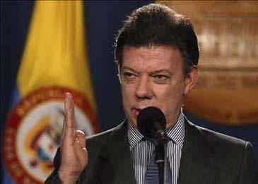 Santos afirma que son 26 los guerrilleros de las FARC muertos en bombardeo