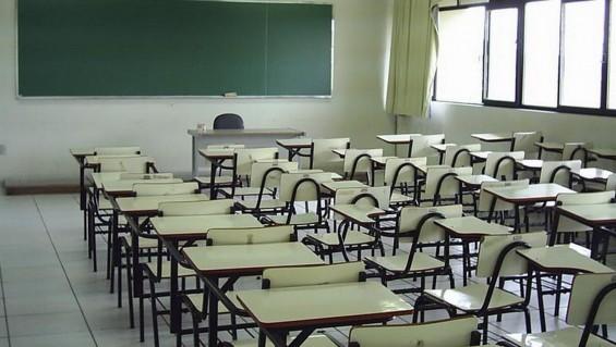 Aulas vacías en San Juan por paro de profesores