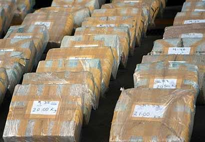 Autoridades de Panamá decomisan 100 kilos de cocaína en costas del Atlántico