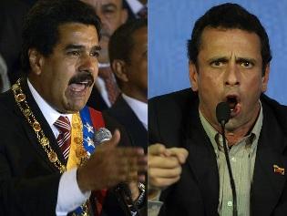 Maduro y Capriles abren formalmente campaña en Venezuela