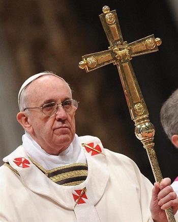 Papa habla en español por primera vez en audiencia pública