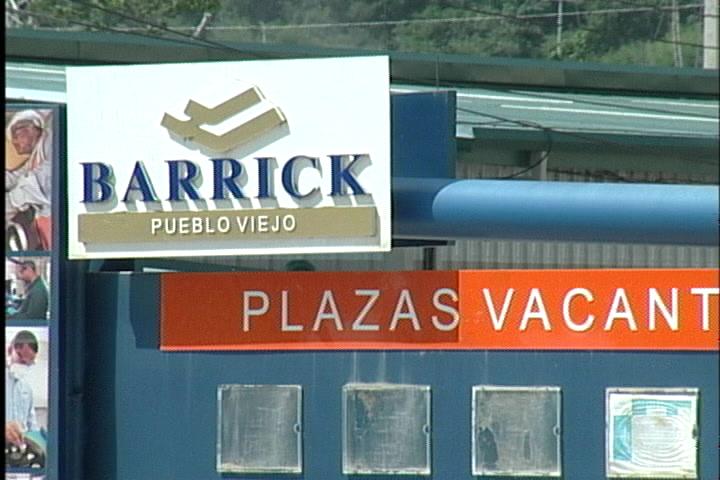 Legisladores consideran gobierno debe militarizar las instalaciones de la Barrick Gold