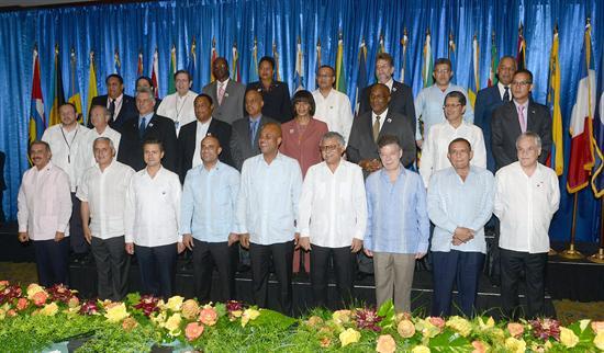 Presidentes caribeños cierran filas en AEC y llaman a integración