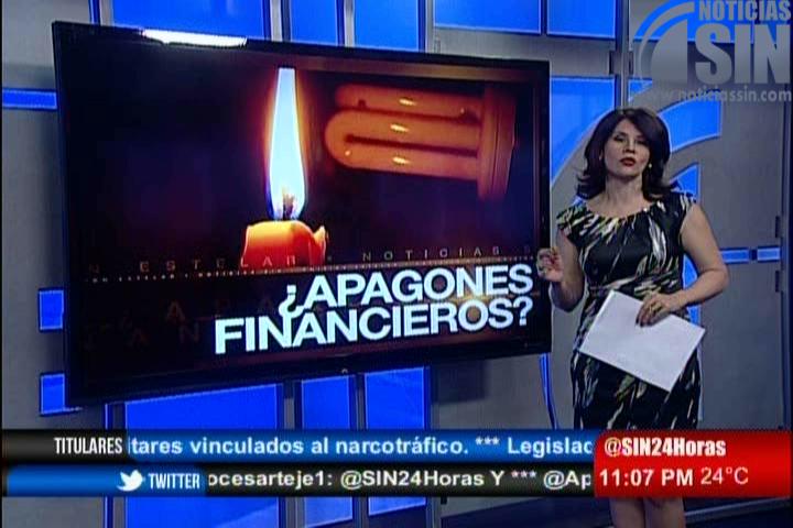 Alicia Ortega: Deuda con generadores parece no tener solución