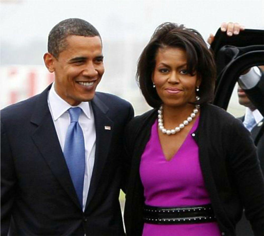 Barack y Michelle Obama visitan a los heridos del atentado de Boston