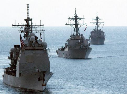 EE.UU. acerca a Corea del Norte buques de detección y antimisiles
