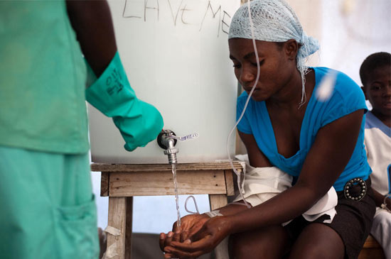 OPS afirma que trabajará en erradicar el cólera en Haití