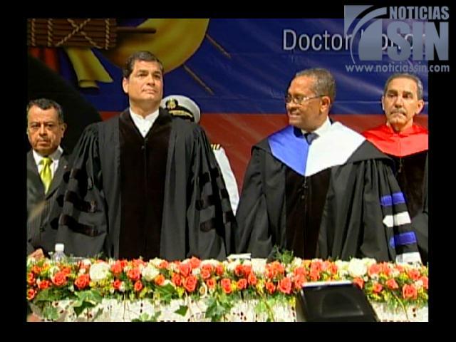Rafael Correa: Los recursos del subsuelo son propiedad del Estado