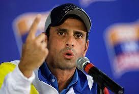 Capriles dice dialogar con Gobierno no significa renunciar a protesta