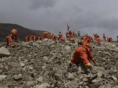 Aumenta a 36 la cifra de muertos por un corrimiento de tierras en el Tíbet