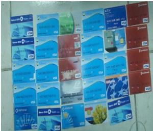 Desmantelan banda dedicada a clonación de tarjetas bancarias