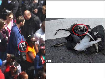 FBI muestra fotos de dos sospechosos de colocar las bombas de Boston
