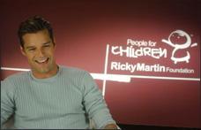 Reconocen Fundación Ricky Martin por combatir la trata de personas