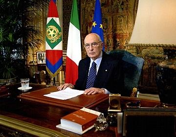 Giorgio Napolitano es reelegido presidente de la República italiana