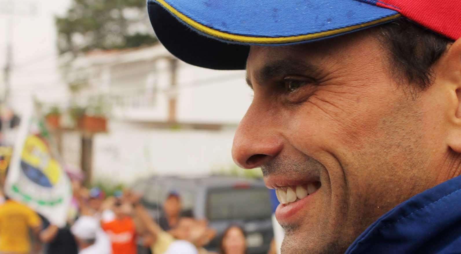 Capriles encabeza acto y pide no usar el poder para perseguir
