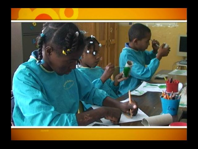 Hogar dedicado a niños huérfanos en San Pedro