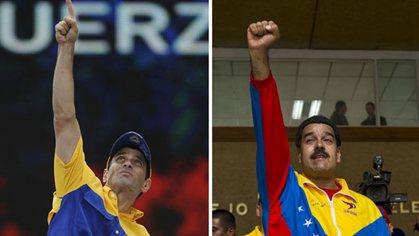 Maduro y Capriles cierran campaña en Venezuela