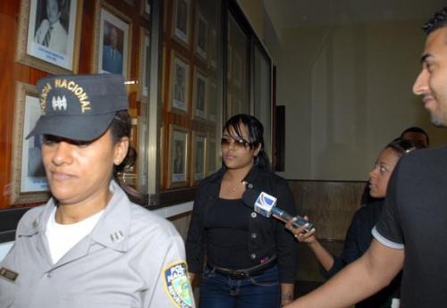 Martha Heredia fue traslada hoy a la Cámara Penal del Distrito