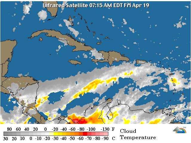 Vaguada incide en las condiciones del tiempo de RD
