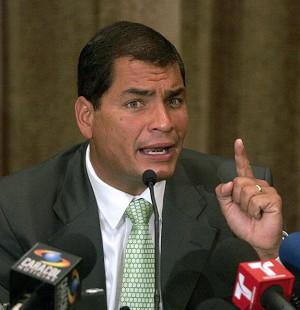 Correa cree que hay campaña para deslegitimar el Gobierno venezolano