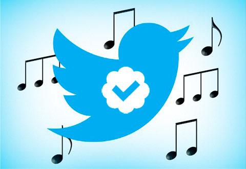 Twitter Music ve la luz