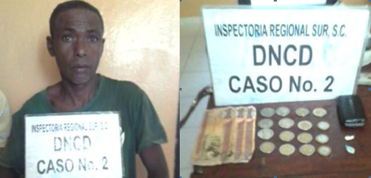 DNCD apresa varias personas que ligan a la venta de droga en SC