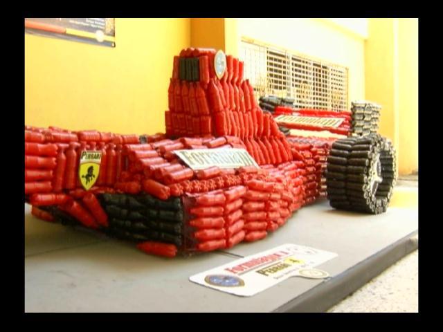 Estudiantes UASD elaboran carro con características de Formula 1